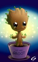 Little Groot by Dreamgate-Gad