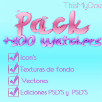 ++Pack 100 Watchs *-* by ThisMyDou