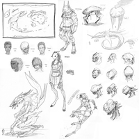 Giant Sketchdump VII by Zaeta-K