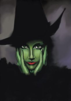 A Wicked Witch by killer-queen-g