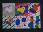 bunny abstract art project by senga3438