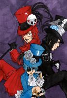 Kuro - Men in Top Hats by AngelofArtists