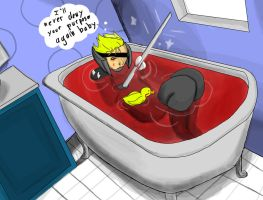 MGRR- Bathing in enemy Blood by Mister-23