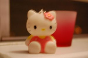 hello kitty ,shot glass ? by PrincessKanyo