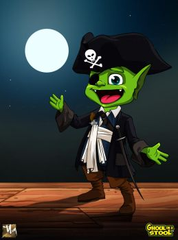 Pirate Ghoul by prosn