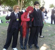 Will, Grelle, and Ronnie by Sadict
