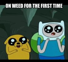 1st Time on Weed by dinochickrox