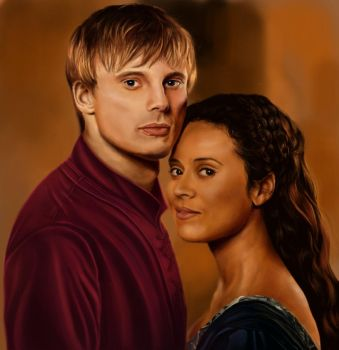 The King and Queen of Camelot by Miss-Catherine