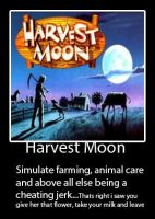 Harvest Moon Demotivational by MikiMichelleMAL