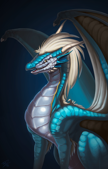 Draconis Painting by thazumi