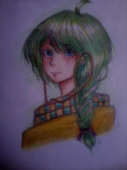 Green Hair by function-kei