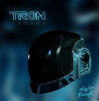 Daft Punk Helmet- Guy Manuel by RetroDevil