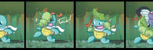 Squirtle: Viridian Forest by SHIBUYA401