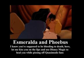 Esmeralda and Phoebus Fail by BelleSura