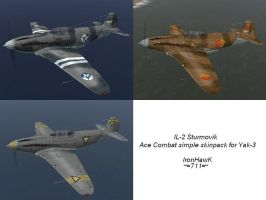 Ace Combat simple skins by IronHawk711