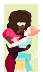 Commission: Garnet x Pearl by Weasley-Detectives