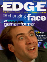 Edge Issue 1 - Nicholas Cage by Mabeanie
