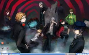 Desktop v.1: Persona 4 by Shark-of-the-Sky