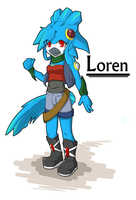 comission: Loren by xilefti