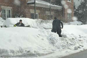 For Safty Sake, Fire Fighters Clearing Hydrants by Miss-Tbones
