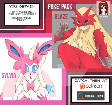 Poke' PACK NOW AVAILABLE by Nucannon