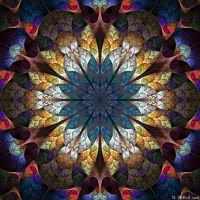 The mandala of unfolding by IDeviant