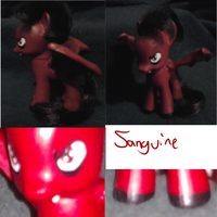Sanguine Custom Pony (better quality) by King-Candy