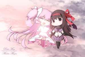 Madoka Magica : Together Again by BlazingWarlord