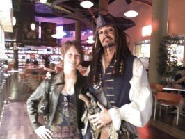 Me and ol Cap'n Jack Sparra by CheshFire