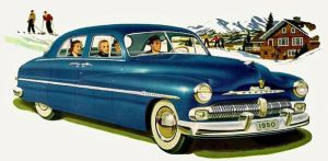 age of chrome and fins : 1950-51 Mercury by Peterhoff3