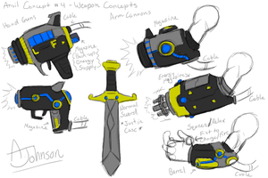Anvil Weapons Concept by KohakuKun19