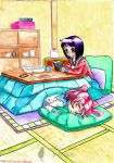 A Leisurely Day at Home by MahoushoujoPurin