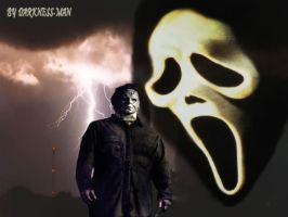 GHOSTFACE VS MICHAEL THE MOVIE by Darkness-Man