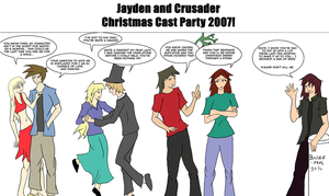 JC Christmas Party by Crusader1089
