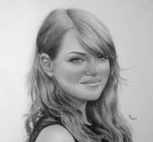 Emma Stone by FromPencil2Paper