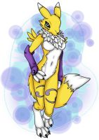 Renamon Again by YenriStar