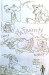 Silly Reshiram comic uncolored 2 by IggySeymour