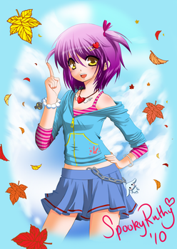Welcome Autumn by SpookyRuthy