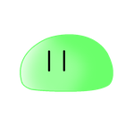 Green Ordinary Dango by MayuRiko