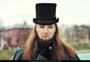 STOCK - Gothic Aristocratic Man 03 (Portrait) by LienSkullova