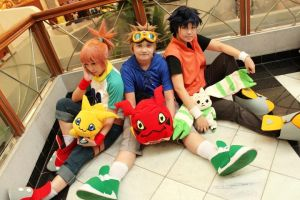 Digimon Tamers Cosplay by shuukichi
