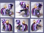 PonySculptors Halloween Giveaway: Ravenclaw Twi by CadmiumCrab