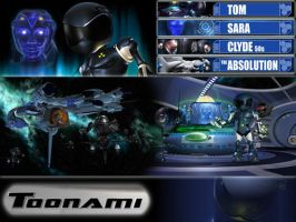 Toonami Custom Wallpaper by UnitedFang