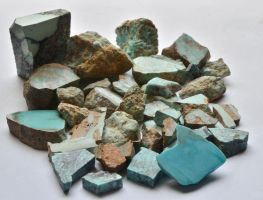 Pile Of Turquoise by lamorth-the-seeker