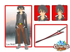 Elsword-RPs Leo Wulf by darknesshunter17