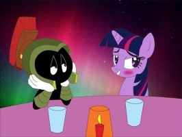 Comm.XTwilight: First Date by dragonia24
