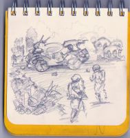 2010 Scetch Diary 11 by sedatgever