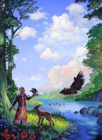 Shamanic Secrets of Material Mastery by AlanGutierrezArt