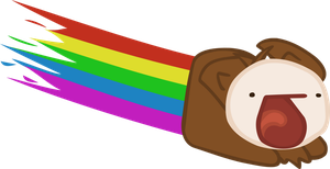 Nyan Squirrel by Falcfire