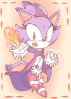 Blaze the kitteh by chibiirose